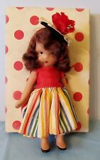 "SWEET 5"" BISQUE NANCY ANN STORYBOOK DOLL #122 ALICE SWEET ALICE WITH BOX"