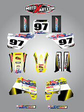 Full  Custom Graphic  Kit -AUSSIE PRIDE - Suzuki RM 250 / 1989 - 1992