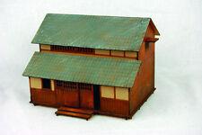 Gebäude,Tunnel und Brücken aus Holz für Spur 1