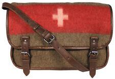 Schweizer Armee Umhängetasche im Vintage-Look Retro