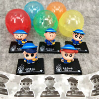 Crayon Shin-chan black figure PVC figures doll toy set of 5pcs model anime gift