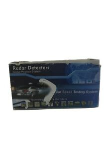 Radar Detectors-Global Position System 360 Full Band .Car Speed testing system