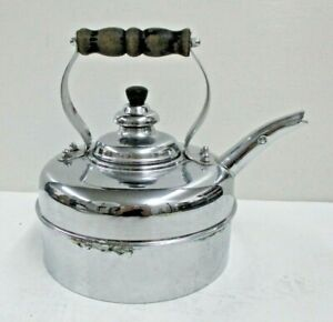 Vintage SIMPLEX Solid Copper Tea Kettle Made in England Patent# 400709-402190