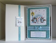 Large Christmas Card Wife/Husband/Girlfriend/Boyfriend etc Boxed Personalised
