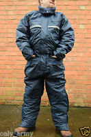 Army Surplus Cold Wet Weather Waterproof Coverall Overall NEW Durable With Hood