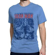 Iron Man a New Hero Revealed Men's T-Shirt Heather Blue
