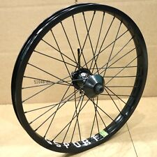 ODYSSEY BMX CLUTCH v1 FREECOASTER COMPLETE REAR WHEEL BLACK RHD GSPORT ROLLCAGE