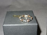 NEW Welsh Clogau Silver & Rose Gold Royal Clogau Oak Leaf Ring Size Q RRP £320