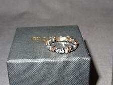 Gallese Clogau Argento & Rose Gold Royal foglia di quercia Clogau Anello Taglia L Rrp £ 320