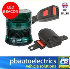 Securon Cinturón De Seguridad Naranja y Verde LED baliza de punto único Kit 12/24v - PB060G/SBK