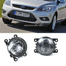 Pair Left & Right For Ford C-Max Fiesta Focus Transit Connect Fog Light Lamp