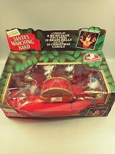 L👀K Vintage Santa's Marching Band by Mr Christmas Inc 1993 Damage to Box