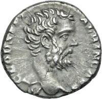 Roman Empire Clodius Albinus Denarius Minerva Goddess AD 194 / 195 NICE COIN