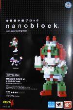 Masked Rider V3 & Hurricane, Kawada nanoblock NBTN_008