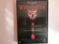 Wishmaster Wes Craven DVD + extra Spagnolo English Horror