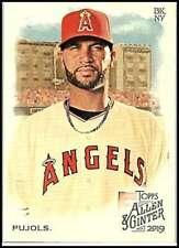 2019 Allen and Ginter #7 Albert Pujols NM-MT Angels  ID:17783