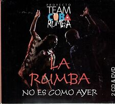 Proyecto Team Cuba Rumba La Rumba No Es Como Ayer  BRAND NEW SEALED   2 CD+1DVD