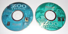 Zoo Tycoon Complete Collection PC Marine Mania Dinosaur Digs 2008 Discs Only