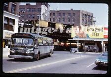 Duplicate Slide Bus Gm 3208 Mabstoa New York City 1960'S Irt