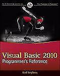 Visual Basic 2010 Programmer's Reference-ExLibrary