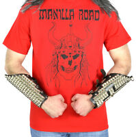 Manilla Road Viking Logo Red T-Shirt