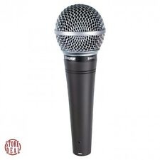 Vocal Microphone Dynamic Cardioid Singing Voice Karaoke Wired Mic Shure SM48 LC