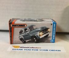 '55 Ford F-100 Delivery Truck * Light Blue * Matchbox Power Grabs * YA15