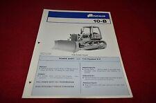 Fiat Allis Chalmers FL10-B Crawler Loader Dealers Brochure YABE11 vr1