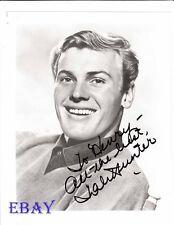 Tab Hunter autograph RARE Photo