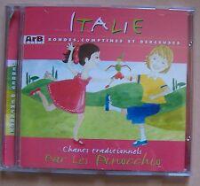 C33- ITALIE CHANTS TRADITIONNELS PAR LES PINOCCHIO