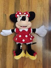 New listing Disney Walt Disney World Minnie Mouse Stuffed 18� Plush Toy Doll
