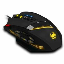 Gaming Mouse Programmable Buttons Led Optical Usb Gaming Mouse Mice 4000 Dpi