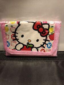hello kitty pink wallet
