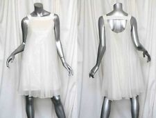 ELIE TAHARI *ONE OF A KIND* Cream A-Line Evening Party Dress Gown-SEQUIN 8 $6000