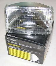 Philips 4651 Rectangular Quad Hi Beam Sealed Beam NEW