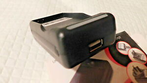 UNIVERSAL BATTERY CHARGER WITH, USB OUTPUT*-FOR MOTOROLA DROID X BH5X