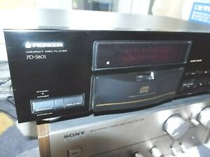 PIONEER PD-S801 STABLE PLATTER CD PLAYER