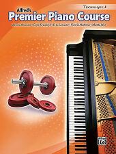 ALFRED'S PREMIER PIANO COURSE TECHNIQUE LEVEL 4 MUSIC BOOK BRAND NEW ON SALE!!