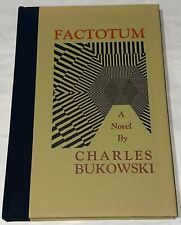 Charles Bukowski FACTOTUM First edition and a beautiful copy!