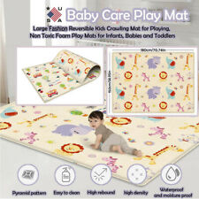 Crawling Mat Large Double-sided Kid Baby Children Care Play Mat Non-toxic Gads