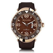 Holler Goldwax Copper Mens Watch HLW2188-1 2188-1 Brand New in Box