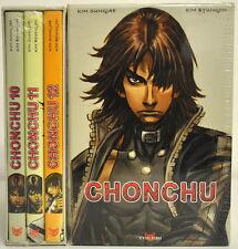 Set of 3 Mangas VF - CHONCHU - Box Flight 4 - No. 10 + 11 + 12 - TOKEBI - NEW
