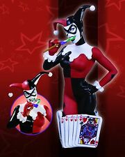 HARLEY QUINN  WOMEN OF THE DC UNIVERSE Bust NEW! From BATMAN STATUE Cover Girls