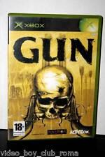GUN GIOCO USATO XBOX OTTIMO STATO EDIZIONE ITALIANA NON COMPATIBILE  XBOX 360