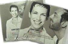 EURYTHMICS CD X 2 17 AGAIN Part1 & Part 2 Inc LIVE TRKS