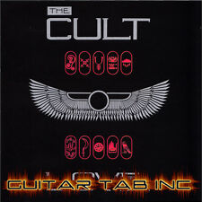 The Cult Guitar Tab LOVE Lessons on Disc