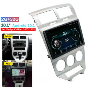 """For 07-09 Dodge Caliber 10.1"""" Android 10.1 Head Unit Stereo GPS Navi Wifi 2+32GB"""