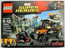 Lego CROSSBONES HAZARD HEIST 76050 Marvel Super Heroes Set Falcon Black Widow