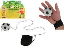 12x Returnball Fu�Ÿball Return Ball an Band Sportball Gummiband Handmanschette
