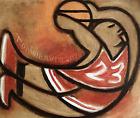 MICHAEL JORDAN PAINTING BASKEtBALL ART MJ DUNKING 23 ORIGINAL SPORTS ARTWORK